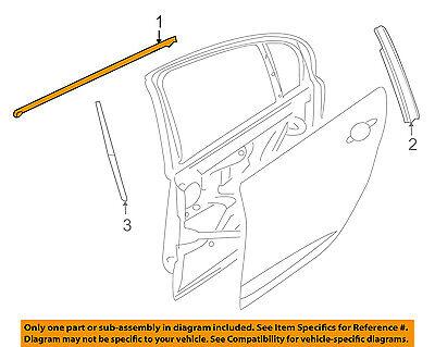 Car & Truck Exterior Door Panels & Frames Acura HONDA OEM TL Rear ...