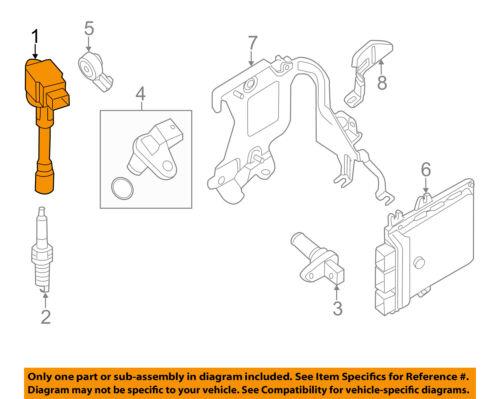 Ignitor Igniter 2011 Nissan Versa S OEM Coil