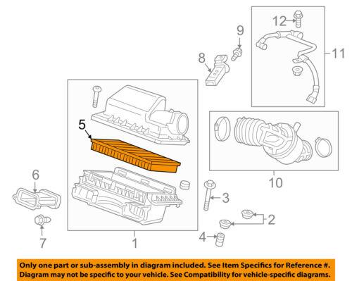 Cadillac GM OEM 16-17 CT6 Engine-Air Filter 23418368