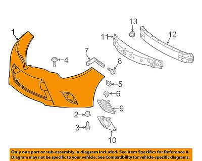 TOYOTA OEM 14-18 Corolla-Bumper Cover 5211903907