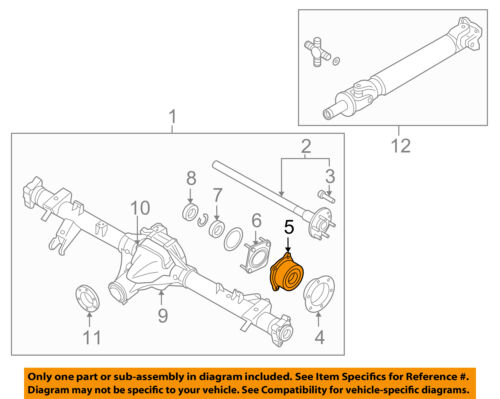 NISSAN OEM Rear-Axle Seals 432520W000