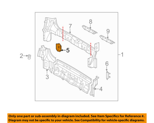 Details about TOYOTA OEM 11-18 Sienna Rear Body-Bumper cket Right  on