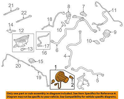 AUDI OEM 12-17 A6 Quattro-Brake Vacuum Pump 06E145100R