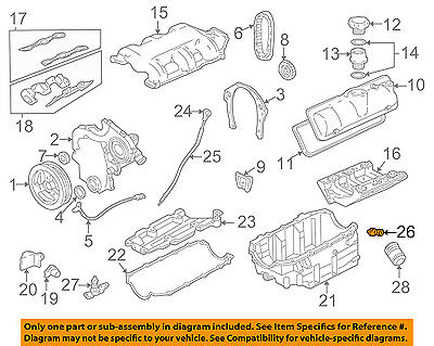 GM OEM-Oil Pressure Sending Unit 12635954