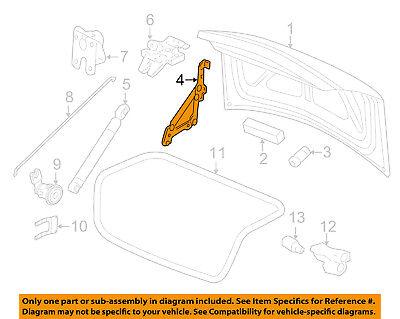 Chevrolet GM OEM 06-13 Impala Trunk Lid-Hinge Right 25964301 ()
