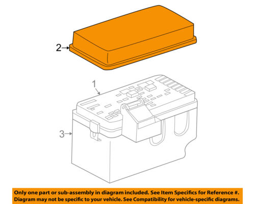 [DIAGRAM_4FR]  Saturn GM OEM 2001 L200 Electrical-Fuse Box Upper Cover 15401179   eBay   Fuse Box 2001 Saturn L200      eBay