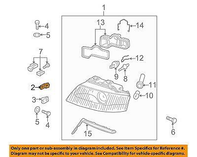 AUDI OEM 98-04 A6 Quattro-Headlamp Assembly Bracket Right 8L0941453
