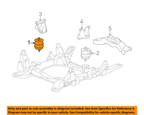 Cadillac GM OEM 05-10 STS-Engine Motor Mount/Torque Strut 25971091