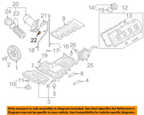 AUDI OEM 04-09 Motor S4-Carcasa De Filtro De Aceite Sello N90959701   eBayeBay