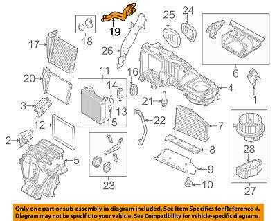 VW VOLKSWAGEN OEM 14-17 Passat 1.8L-L4 Evaporator Heater-Water Pipe 561819857
