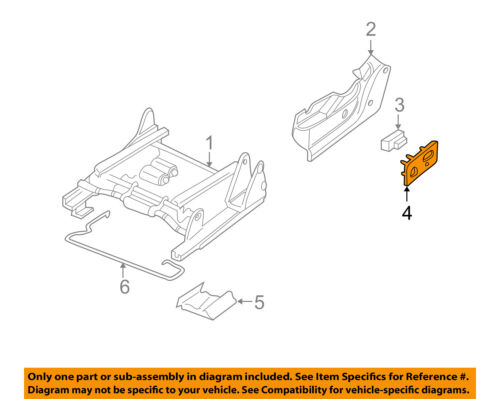 Front Left Driver Side Replaces OEM Part 88941672 Power Seat Adjuster Switch Trim Bezel Panel for GM Vehicles Black