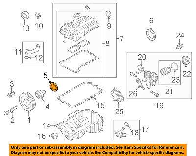 BMW OEM 11-16 X3-Engine Crankshaft Crank Seal 11118618864