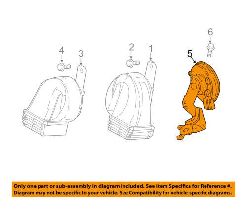 HYUNDAI Genuine 96630-3X001 Burglar Alarm Horn Assembly