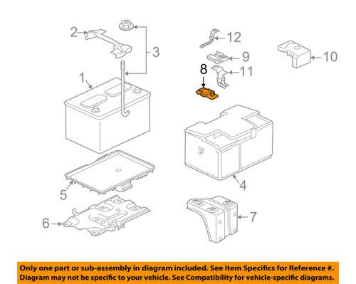 2003 mitsubishi galant engine diagram mitsubishi oem 04 08 galant 2 4l l4 battery terminal mu800890 ebay  mitsubishi oem 04 08 galant 2 4l l4