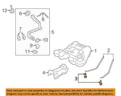 - GM OEM Fuel Gas Tank-Support Strap Bolt 11561374