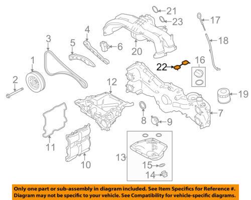 details about subaru oem 15 16 legacy engine intake manifold gasket 14035aa68a Subaru Fuel System Diagram