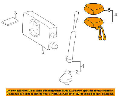 MERCEDES OEM 99-03 CLK320-GPS Navigation System Antenna 12982019759040 for sale  Lake Mary