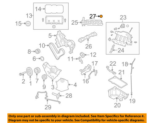 CHRYSLER OEM 07-08 Sebring Engine Parts-Plug 4556020AB