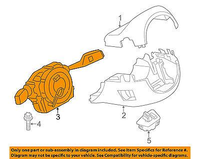 BMW OEM 13-16 M5-Turn Signal Switch Lever Control Handle 61319354047