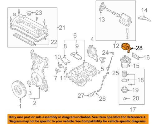 mazda oem 06-10 5 engine parts-oil cooler bolt lf9v14789 | ebay  ebay