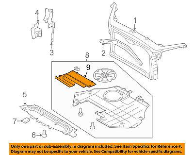 SUBARU OEM Forester Radiator Core Support-Under Cover Retainer Clip 56422AC020