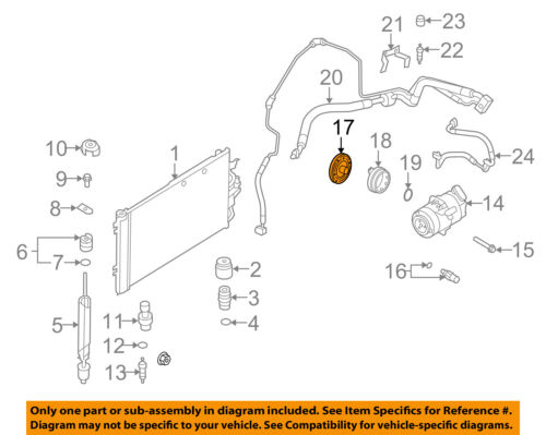 Details about Saturn GM OEM 08-09 Astra-Air Conditioning AC A/C Compressor on