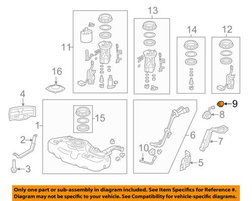 HONDA OEM Fuel System-Filler Cap Clip 91594S1AE01