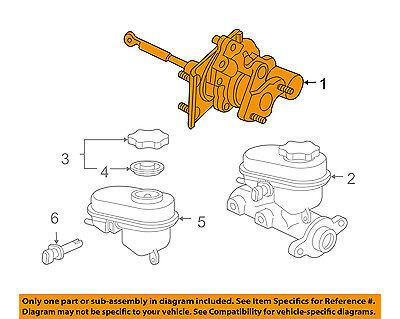 GM OEM-Power Brake Booster 20941664