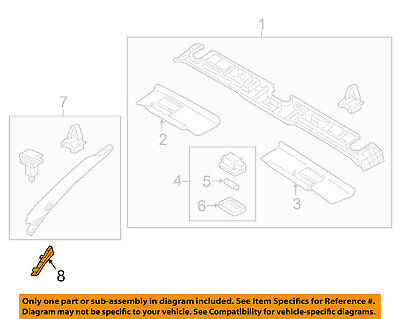 MAZDA OEM MX-5 Miata Interior Trim-Roof-Lower Pillar Trim Right N243681692M