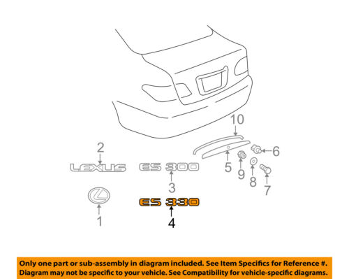 Lexus Es 330 Engine Diagram - Wiring Diagrams Dock