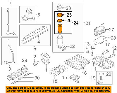 AUDI OEM 05-17 A6 Quattro Engine-Oil Filter 06E115562C