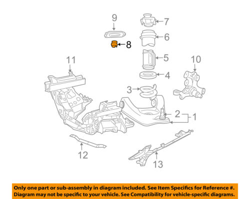 FORD OEM 99-04 Mustang Front Suspension-Bumper E3SZ18A085A | eBayeBay