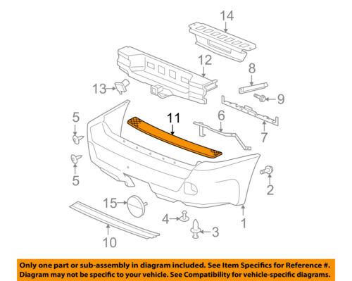 New Bumper Face Bar Step Pad Chevy Chevrolet Trailblazer GMC GM1191117 15135701