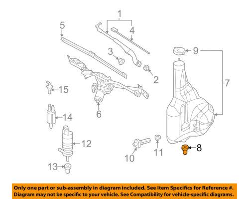 Fuel Pump Mount-Genuine Fuel Pump Mount fits 84-93 Mercedes 190E 2.3L-L4