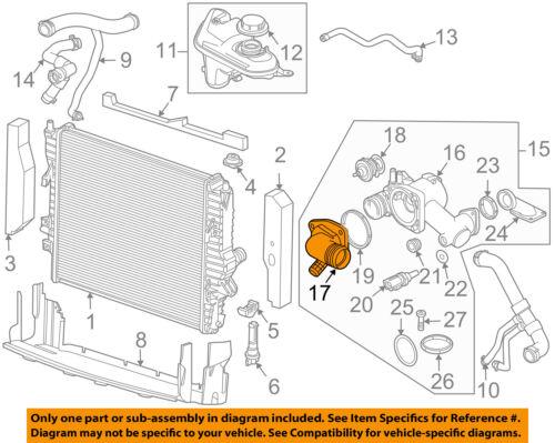 Details about JAGUAR OEM 07-09 XK-Engine Coolant Thermostat Housing on