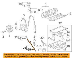 GM OEM Engine Oil Level-Dipstick Tube 12625031
