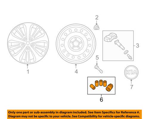 Kia Genuine UM080-WLP01 Wheel Lock