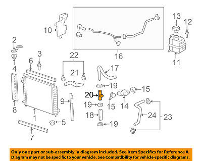 GM OEM Radiator-Connector Pipe 15793367