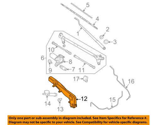 Nissan Oem Pathfinder Wiper Washer