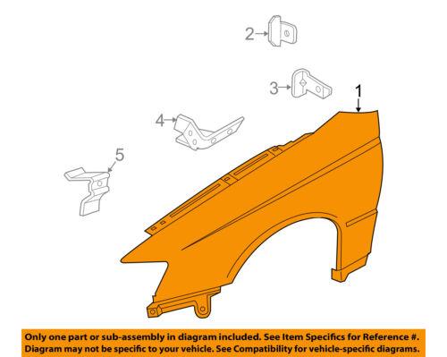 Passenger Side Fender For Pontiac GTO 04-06 Steel Front Primed