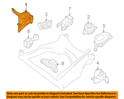 [SCHEMATICS_4JK]  NISSAN OEM 07-13 Altima-Engine Motor Mount/Torque Strut 11210JA000 | eBay | 2013 Nissan Altima Engine Diagram |  | eBay