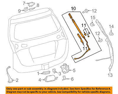 TOYOTA OEM Liftgate Tailgate Hatch Trunk-Lift Support Strut Shock 6891049055