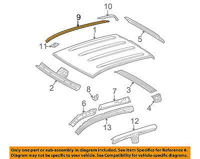 TOYOTA OEM 07-18 Tundra Roof-Drip Molding Left 755520C050