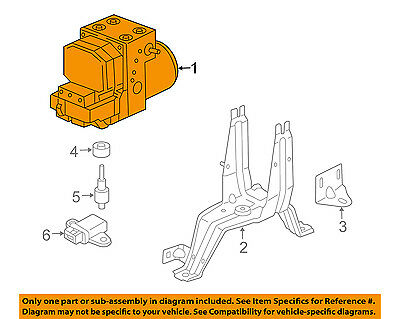 PORSCHE OEM 01-04 Boxster-Abs Pump And Motor Assembly 986355955EX