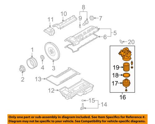 bmw oem 06 10 m6 5 0l v10 engine oil filter housing 11427837710 ebay rh ebay com