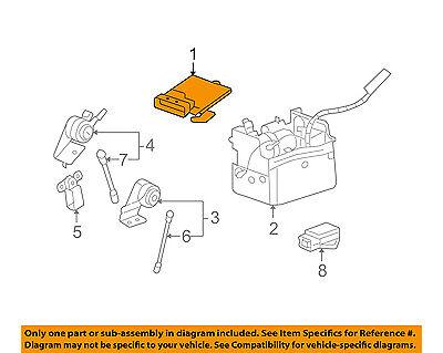 GM OEM Rear-Ride Control Module 25971217