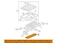 Chevrolet GM OEM 15-18 Trax Brake-Rear Suspension-Vibration Damper Stud 13368153