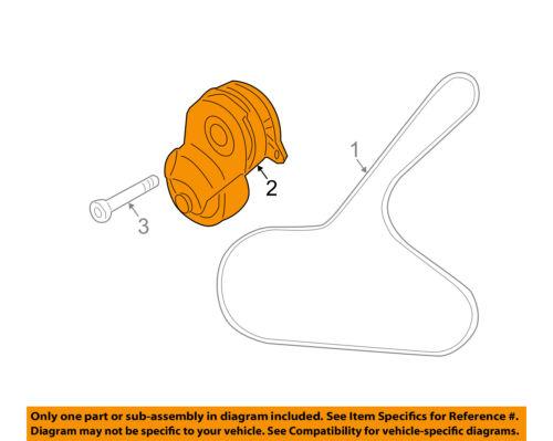 Nissan OEM 11-15 Juke-Unidad Ventilador Tensor Correa De Serpentina  119551KC0A | eBayeBay