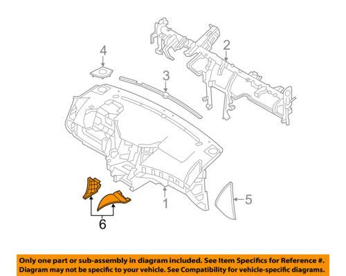 Genuine Hyundai 84795-3L001-2W Center Console Pad Garnish Assembly
