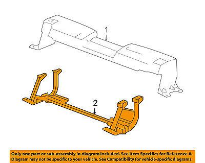 GM OEM Radiator Core Support-Skid Plate 20939829
